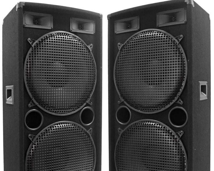 speaker rental service