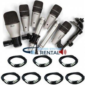Drum Microphone Rental