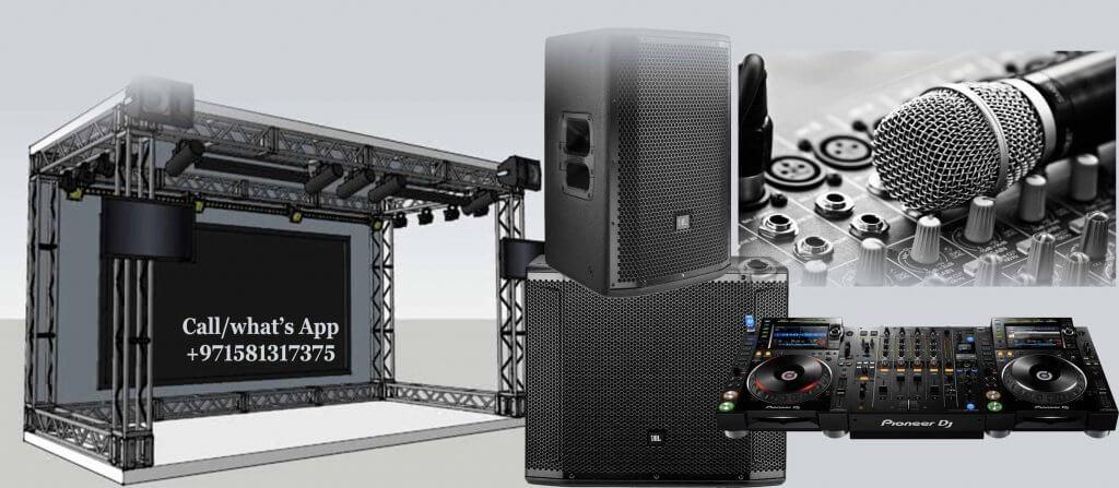 sound system supplier in Dubai