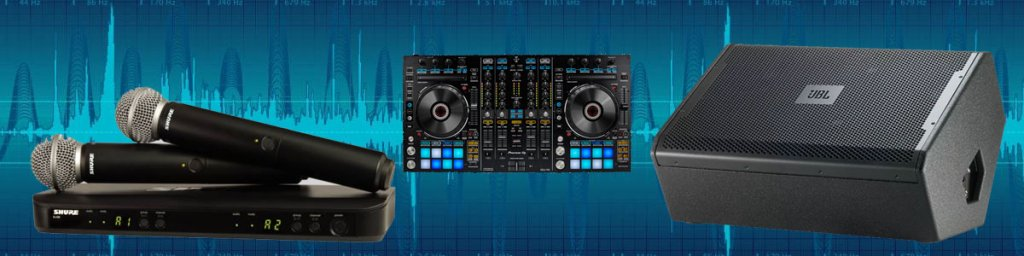 Audio Equipment Rental - PA Rental, Professional Speaker
